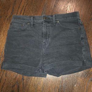 Black madewell Jean shorts!